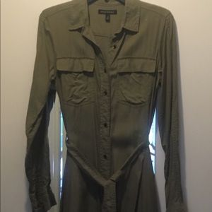 Banana Republic Vintage Safari Style Dress